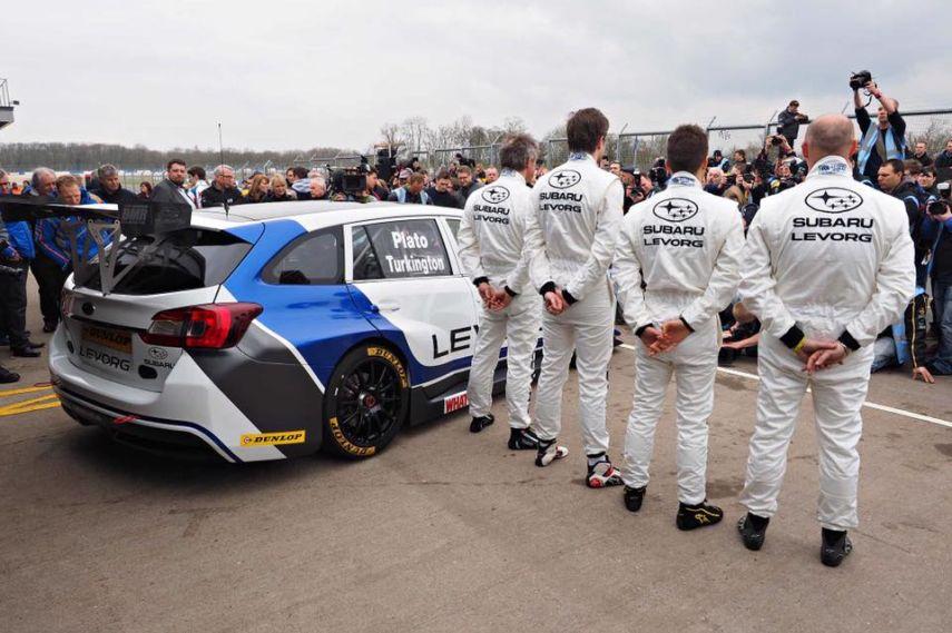 2016 BTCC, Subaru Levorg, Team BMR