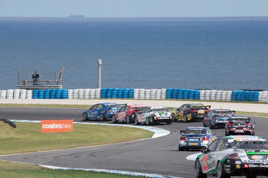 V8 Supercars Phillip Island Circuit