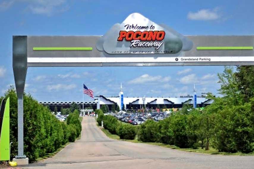 Pocono Raceway win like road information new video abc 500