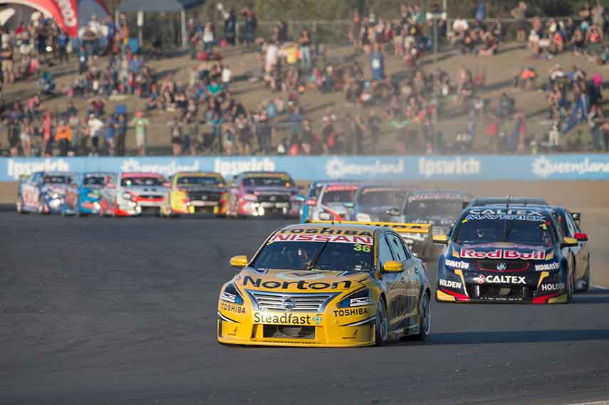 Queensland Raceway V8 Supercars
