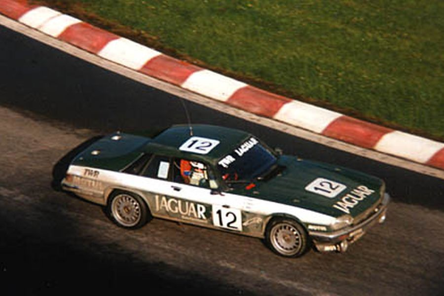 Win Percy's Jaguar at 1984 Spa 24 Hours