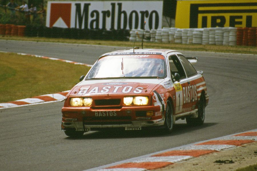Win Percy's Ford Sierra RS500 at 1989 Spa 24 Hours