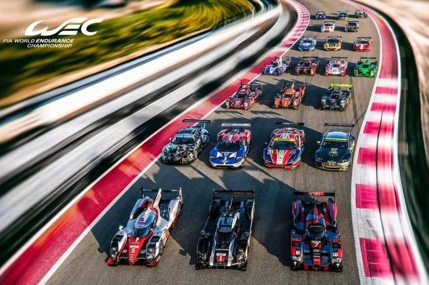 2016 FIA World Endurance Championship grid