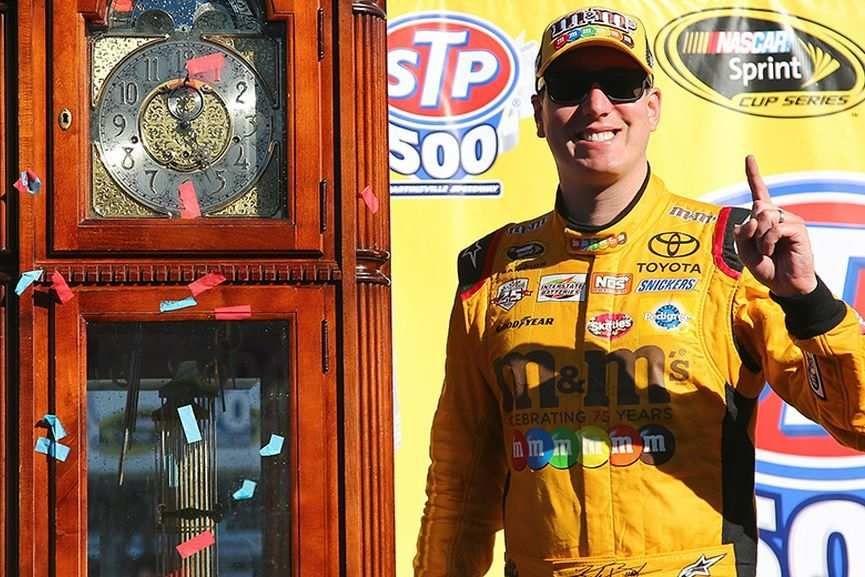 Kyle Busch, Martinsville, NASCAR Sprint Cup Series