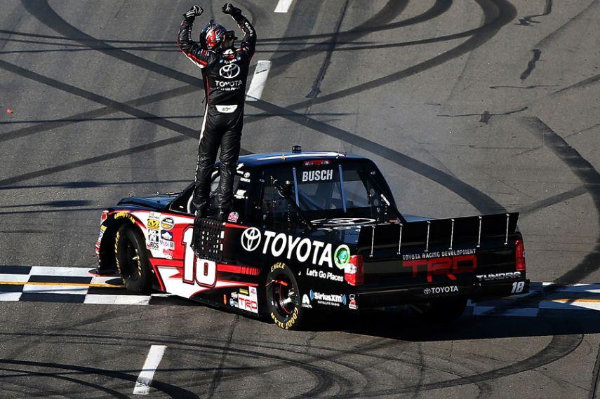 Kyle Busch, Truck Series, Martinsville Speedway
