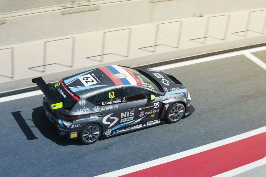 TCR International Seriesm Dusan Borkovic