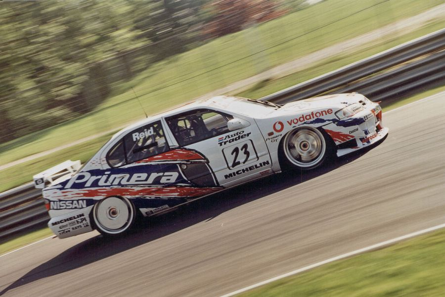Anthony Reid was the 1988 BTCC vice-champion in the #23 Nissan Primera