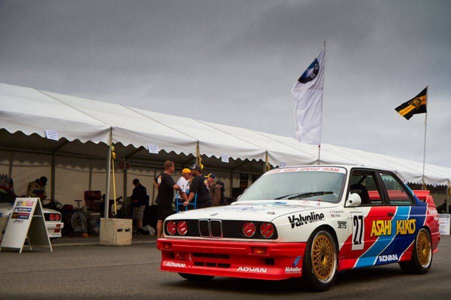 Anthony Reid's #27 BMW M3