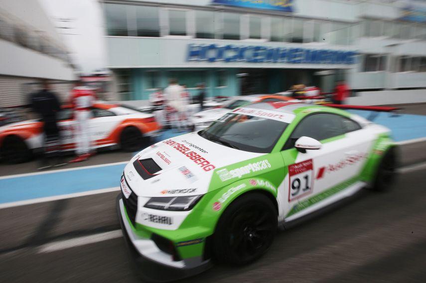Audi Sport TT Cup test at Hockenheim