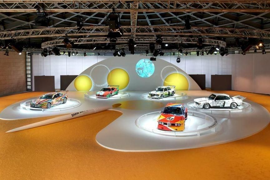 BMW Art Car Collection, anniversary 1975 - 2015, Concorso d'Eleganza