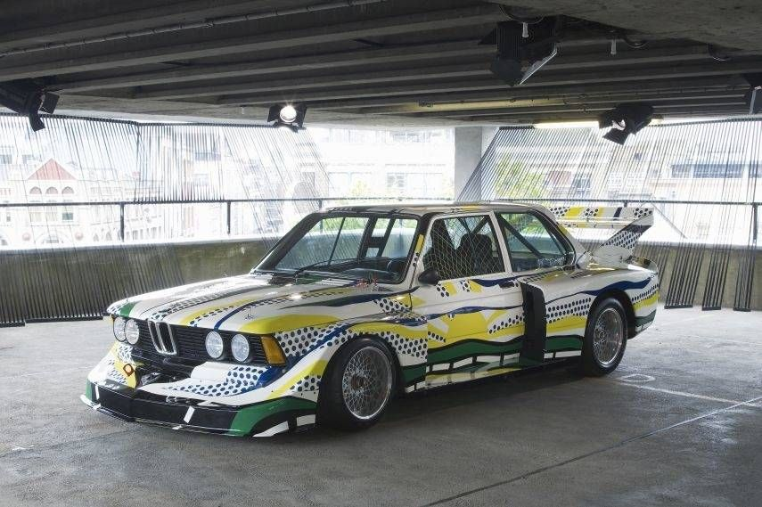 BMW Art Car Collection, Roy Lichtenstein, 1977 BMW 320i