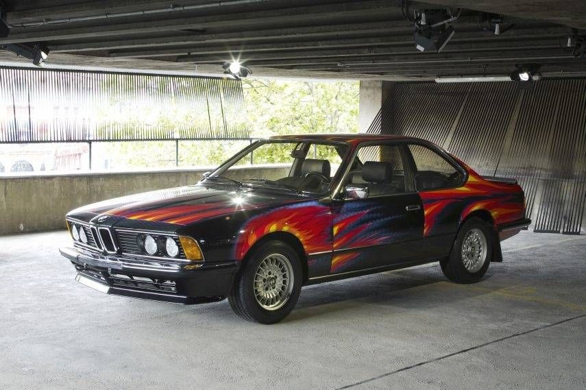 BMW Art Car Collection, 1982 BMW 635 CSi by Ernst Fuchs