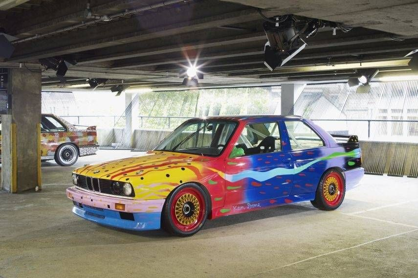 BMW Art Cars, 1989 BMW M3 by Ken Done