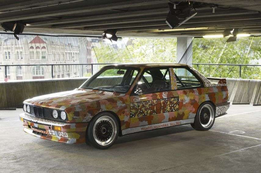 BMW Art Cars, 1989 BMW M3 by Michael Jagamara Nelson