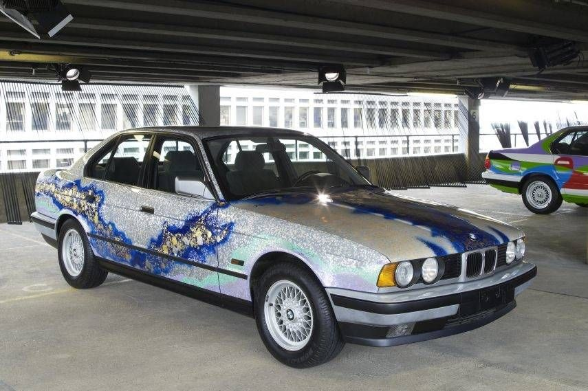 BMW Art Cars, 1990 BMW 535i by Matazo Kayama