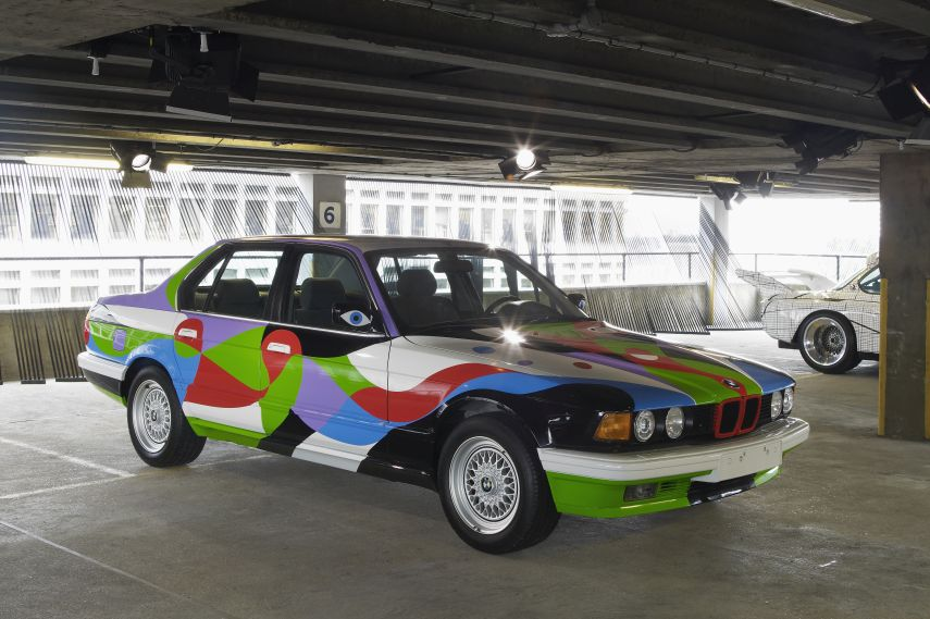 BMW Art Cars, 1990 BMW 730i by Cesar Manrique