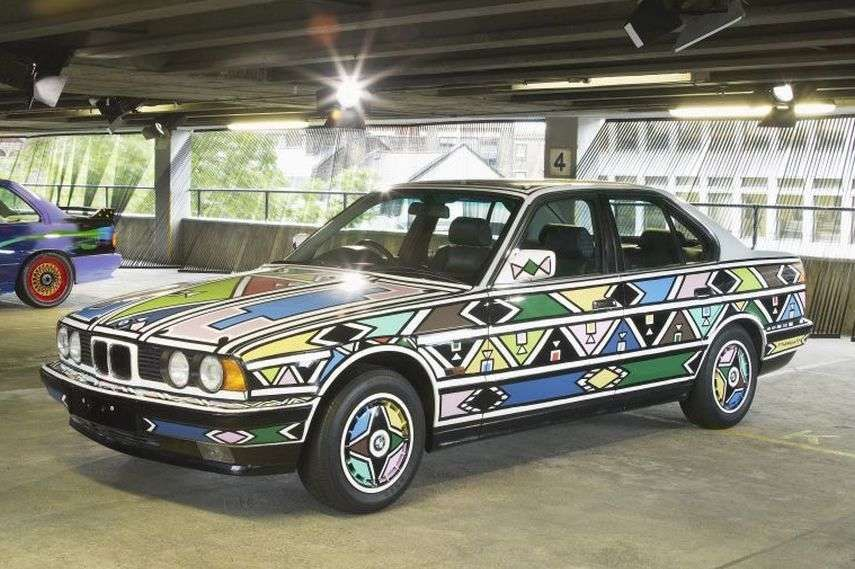 1991 BMW 525i by Esther Mahlangu