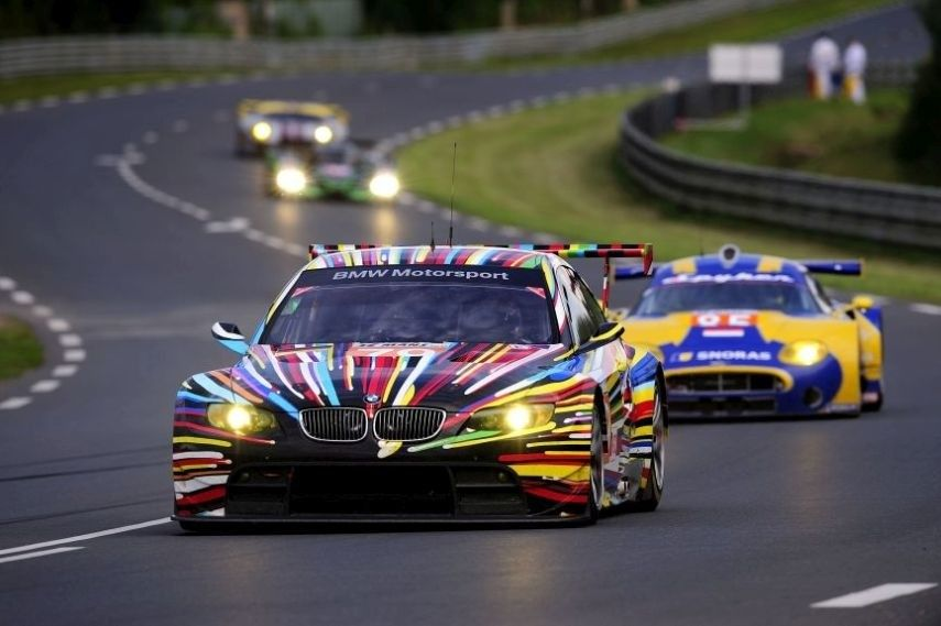 2010 24 Hours of Le Mans, BMW M3 GT2 Art Car