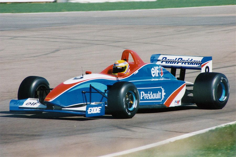 Christophe Tinseau's F3000 car in 1996