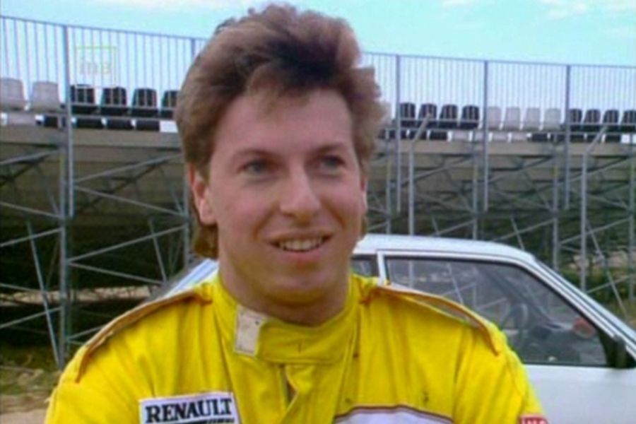 Christophe Tinseau early in a career