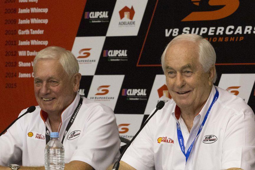 Dick Johnson and Roger Penske, DJR Team Penske, V8 Supercars Australia, 2015
