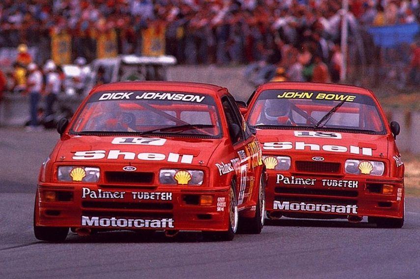 Dick Johnson, John Bowe, ATCC, Ford Sierra RS Cosworth, Ford Sierra RS500