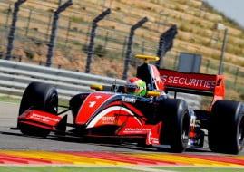 Formula V8 3.5 Aragon race 1, Louis Deletraz, Fortec Motorsports