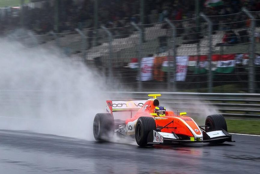 Formula V8 3.5: Tom Dillman wins race 2 at Hungaroring