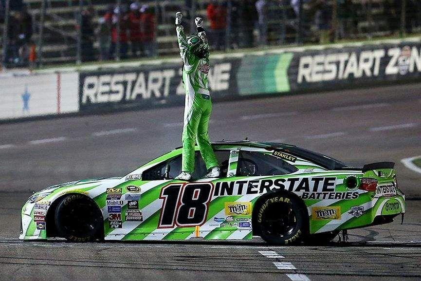 Kyle Busch wins Duck Commander 500 at the Texas Motor Speedway