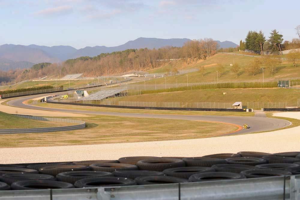 Panorama of Mugello Circuit