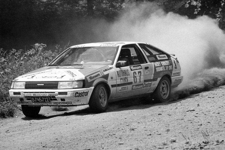 Raimund Baumschlager 1986, Toyota Corolla GT