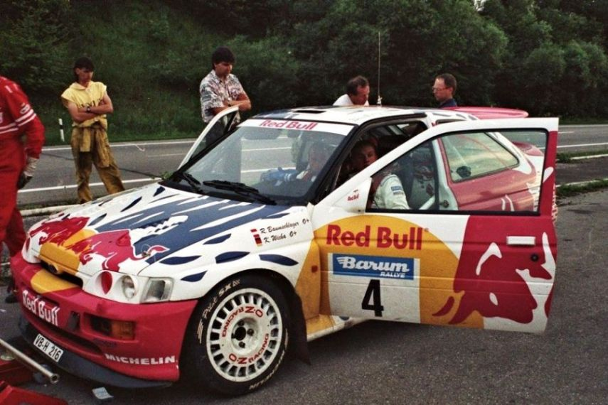 Baumschlager's Ford Escort RS Cosworth in 1993
