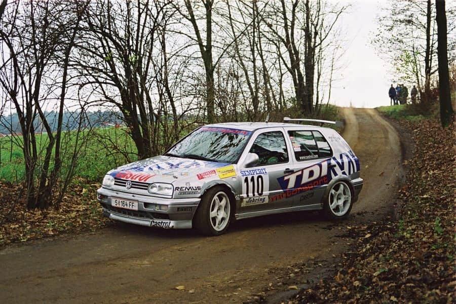 Raimund Baumschlager's Volkswagen Golf TDI, 1998