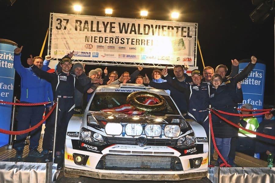 Raimund Baumschlager, 2017 Austrian rally champion