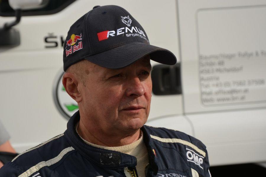 Austrian rally legend Raimund Baumschlager