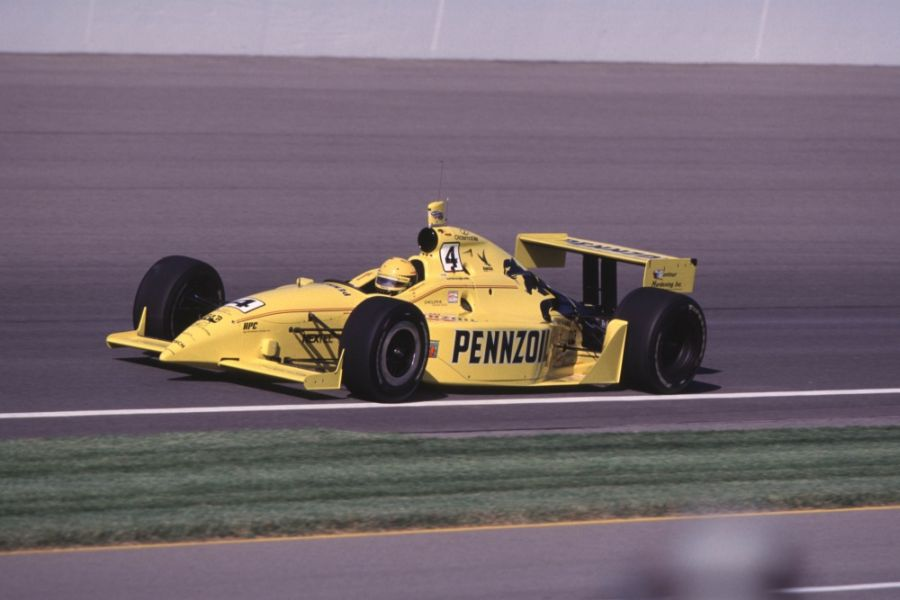 Scott Goodyear spent three seasons in the #4 Panther Racing car