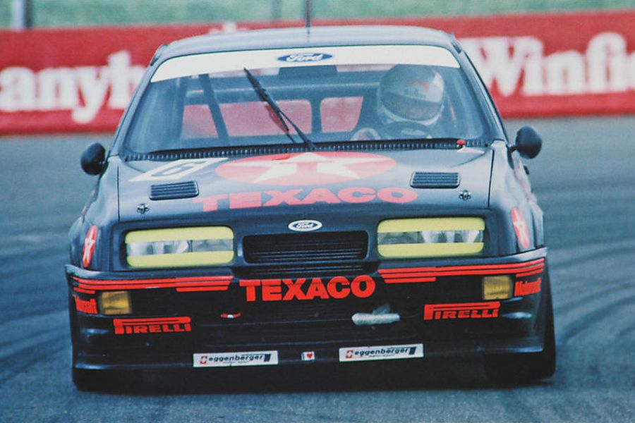 Steve Soper's Ford Sierra RS500 at 1987 Bathurst 1000