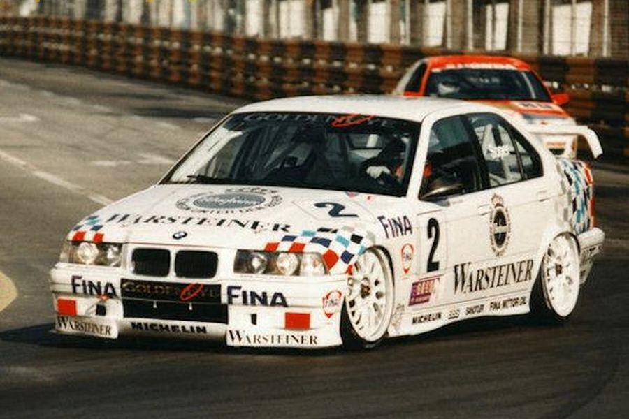 Steve Soper's BMW in 1995