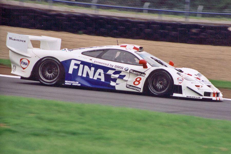 Steve Soper's McLaren F1 GTR in 1997