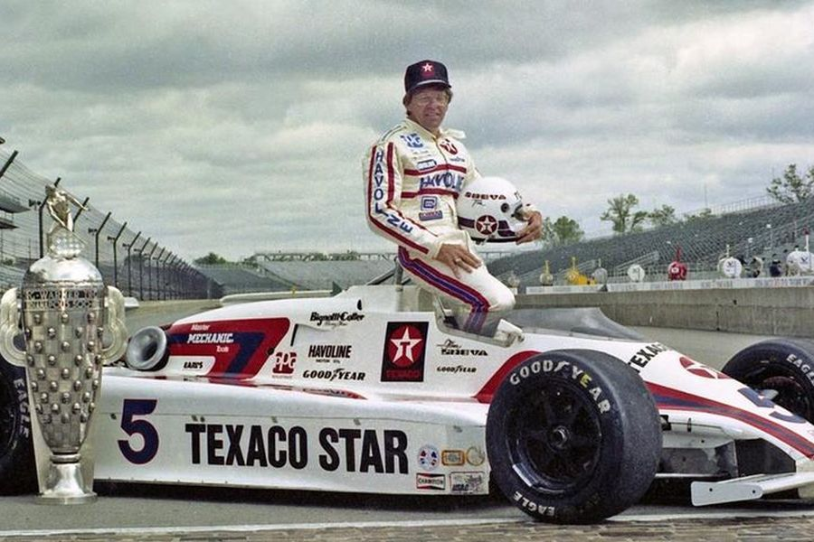 1983 Indianapolis 500 winner Tom Sneva