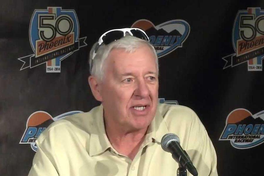 American racing legend Tom Sneva