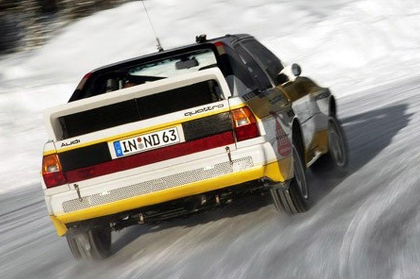 Audi Sport Quattro debut, 1984