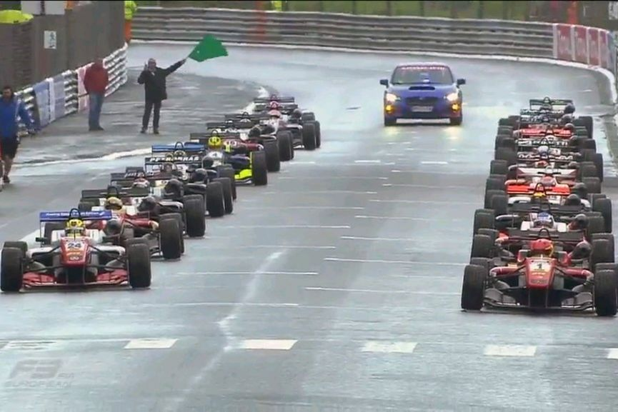 Formula 3 European championship, Pau, starting grid