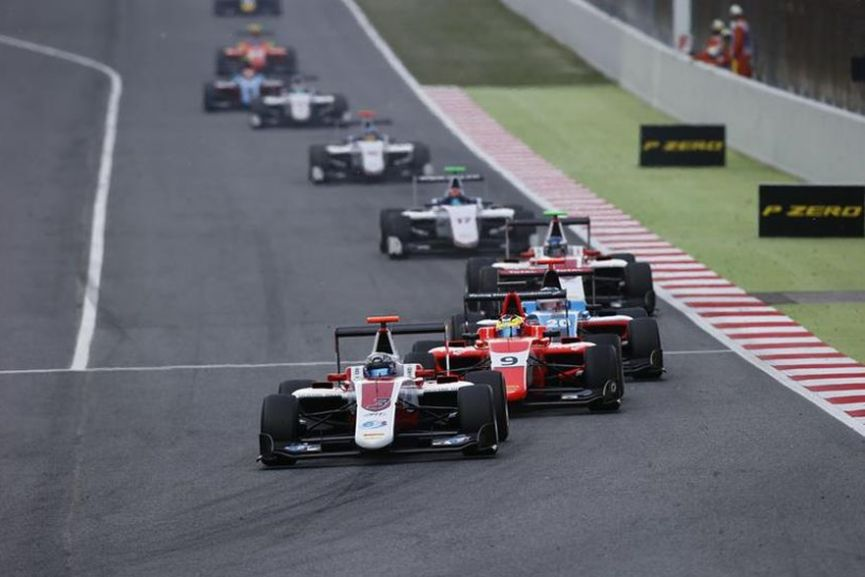 GP3 Series, Barcelona, Alex Albon