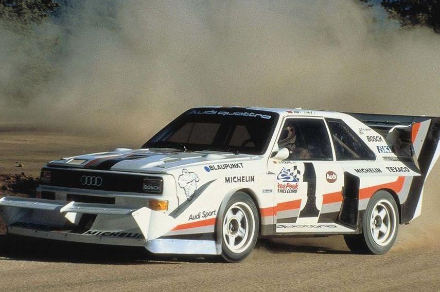Walter Rohrl, 1987 Pikes Peak, Audi Sport quattro S1