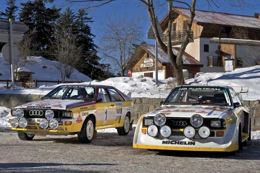 Audi Sport quattro S1, 1985