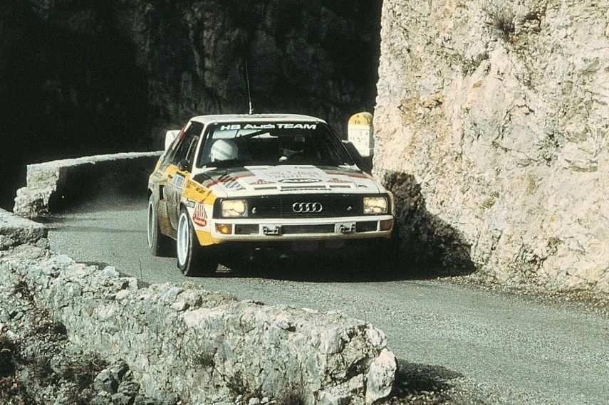 Audi Sport Quattro, 1985 Monte Carlo