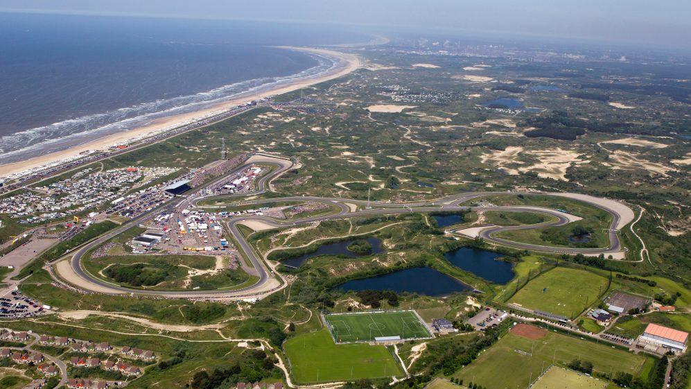 Circuit Zandvoort, Aerial view