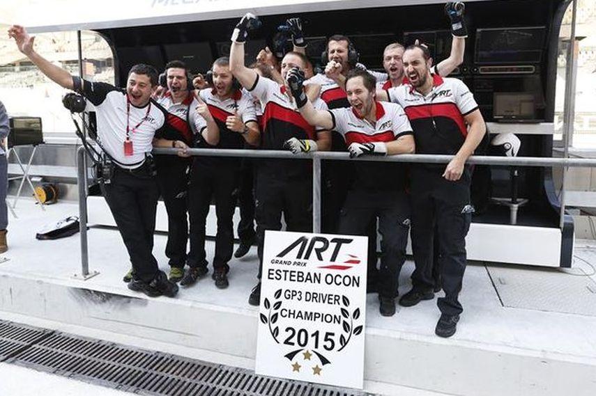 ART Grand Prix, Esteban ocon, GP3 Series 2015