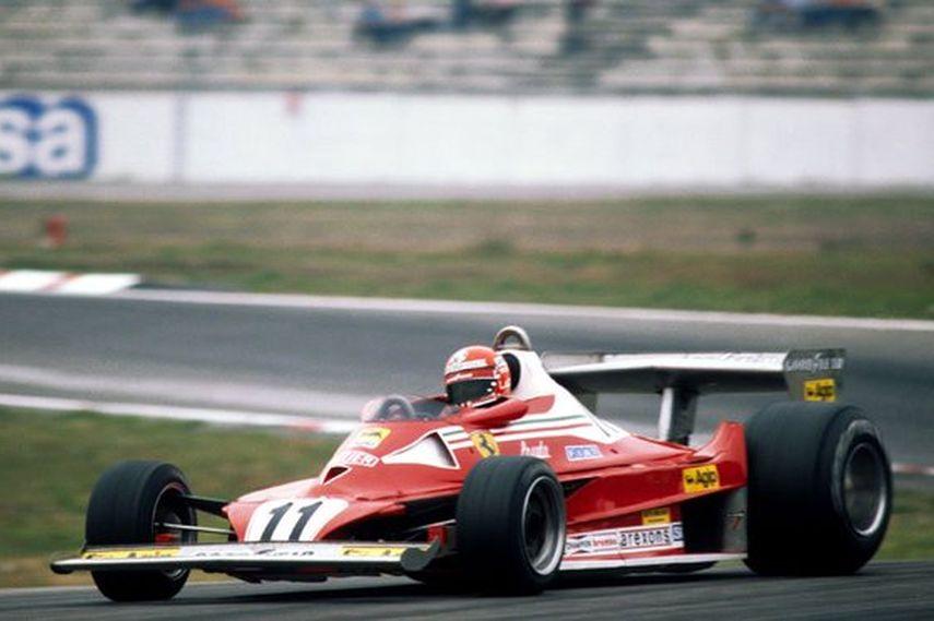 Hockenheimring, 1977 German Grand Prix race, Niki Lauda, Ferrari